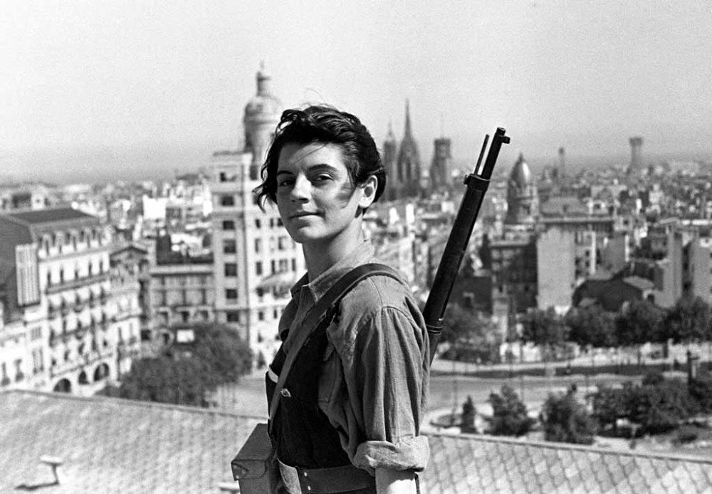 Marina Ginestà; Barcelona, 1936