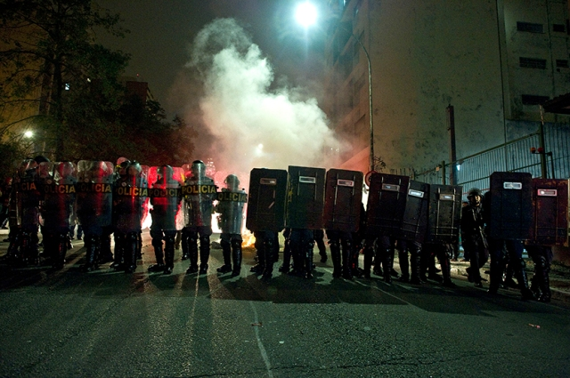 Sao Paulo and Brazil in flames