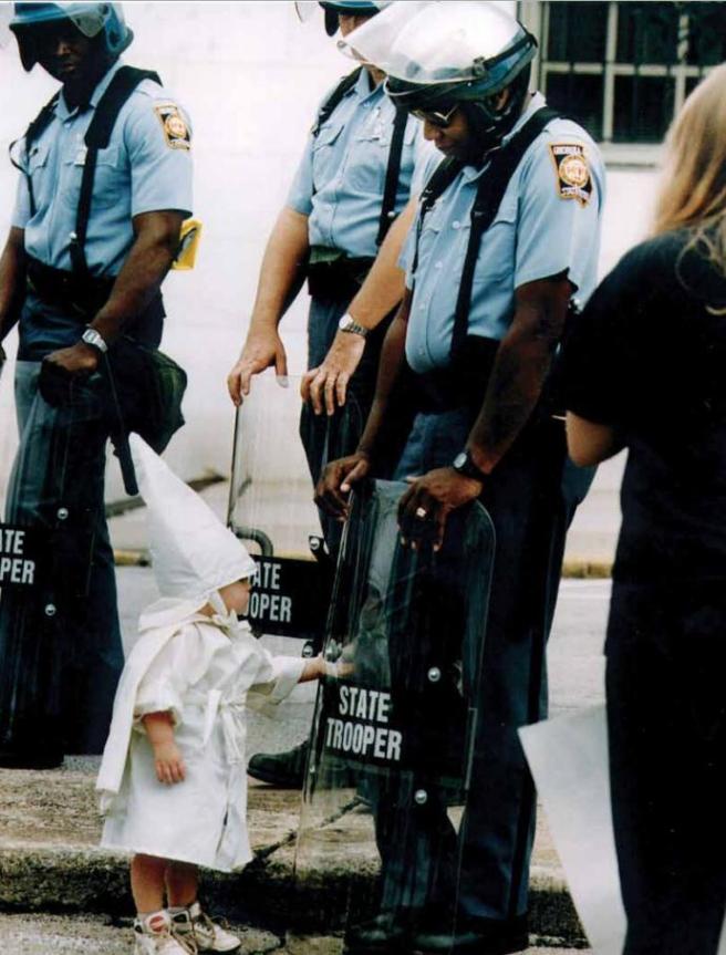 Hate is societal, not genetic