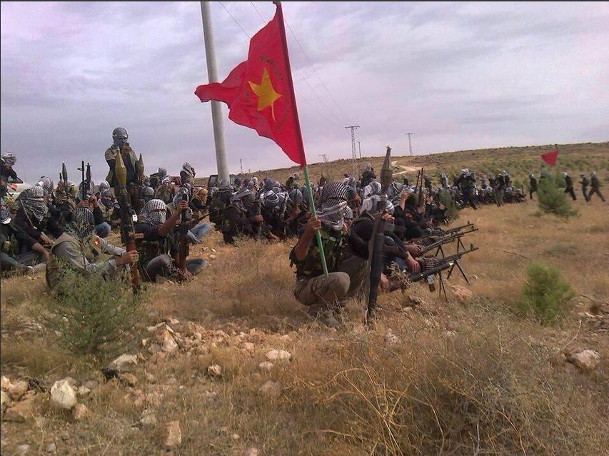 The Kurds- the Syrian civil war's third side