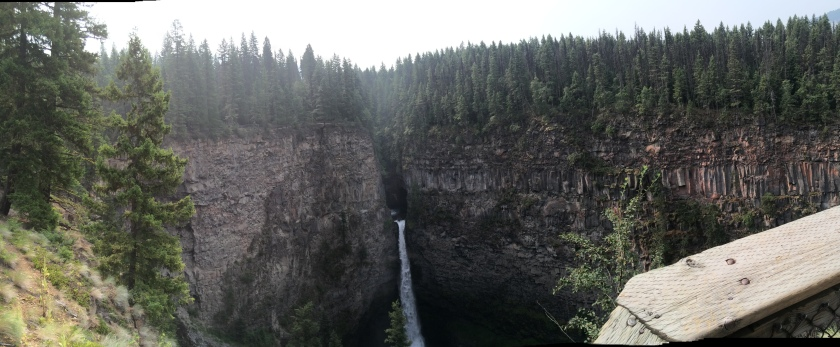 Spahats Falls, Wells Gray Provincial Park Taken by Andrew Mackay