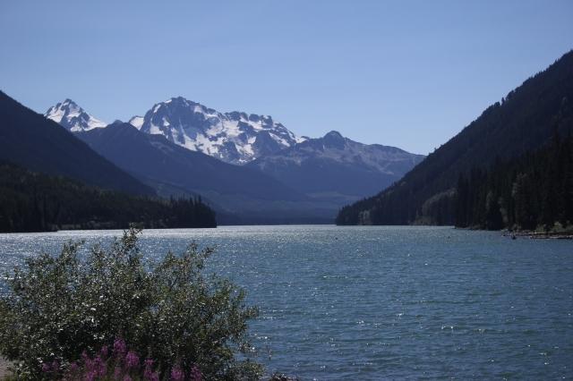 Mountains north of Whistler, British Columbia.