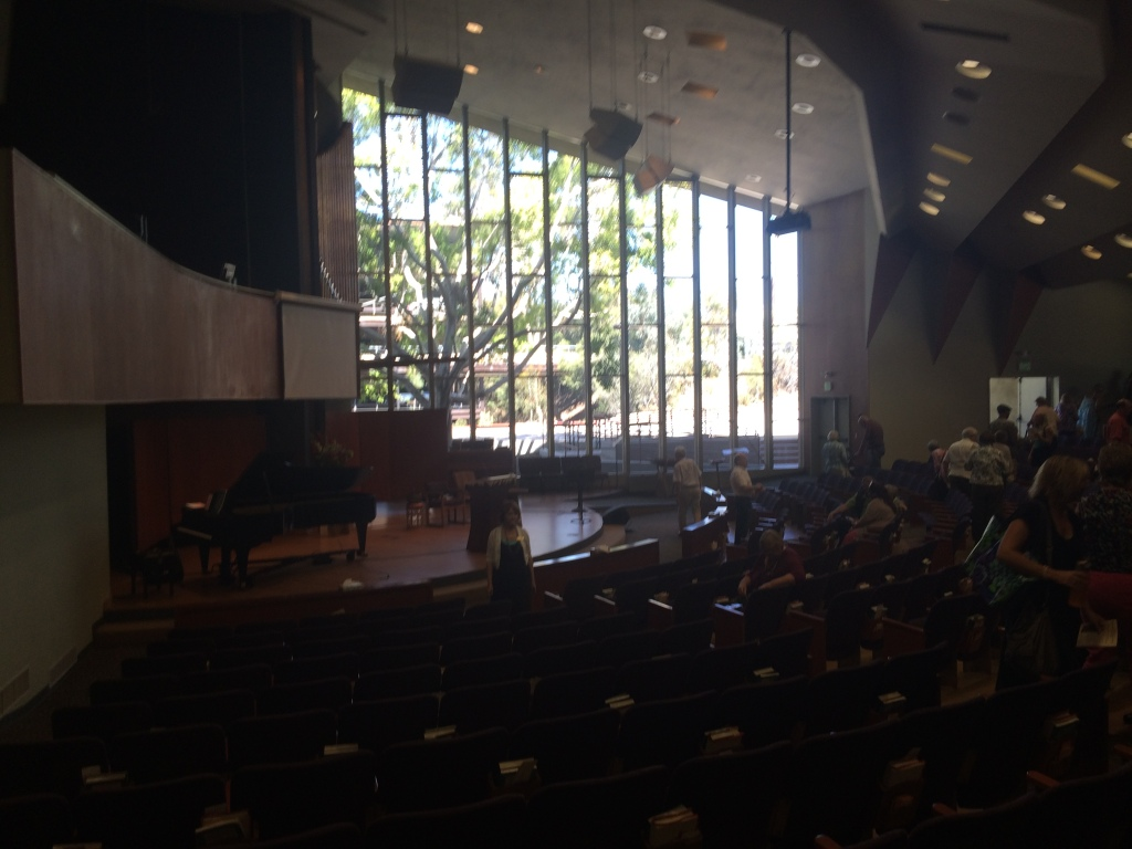 Meeting house, First UU of San Diego