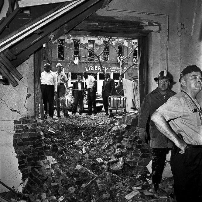 The rubble of 16th Street Baptist. September, 1963